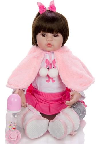 muñeca niña realista reborn silicona envio inmediato! oferta