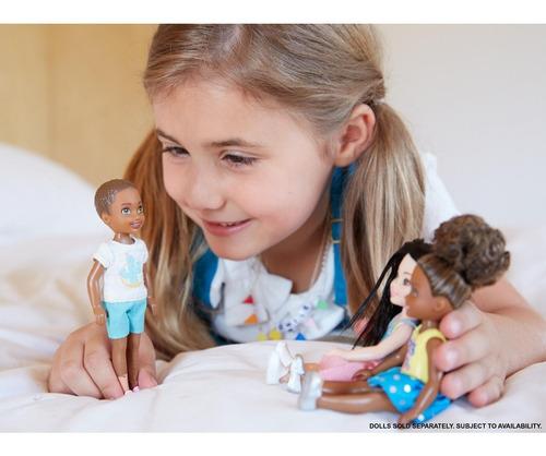 muñeca niño barbie club chelsea