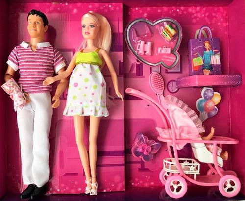 muñeca paloma embarazada familia el duende azul 6338 bigshop
