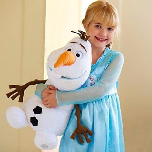 muñeca peluche elsa de frozen fever 50 cm excelente calidad