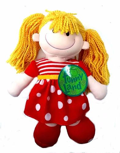 muñeca pepona soft colitas 32 cm - jugueteria aplausos