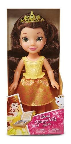 muñeca pequeña bella disney princesas