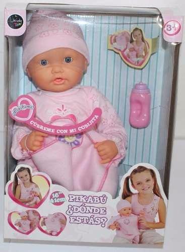 muñeca pikabu ¿donde estas? interactiva de jeidy toys 41cms