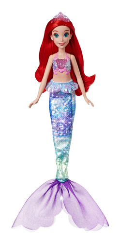 muñeca princesa ariel melódica disney princesas