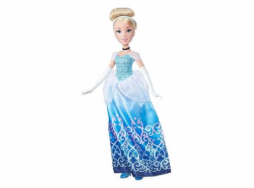muñeca princesa cenicienta  fashion disney hasbro