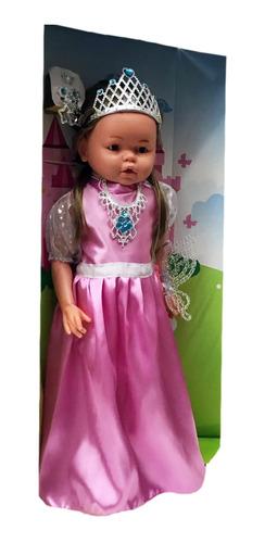 muñeca princesa julieta gigante cariñito sonido 0680 bigshop