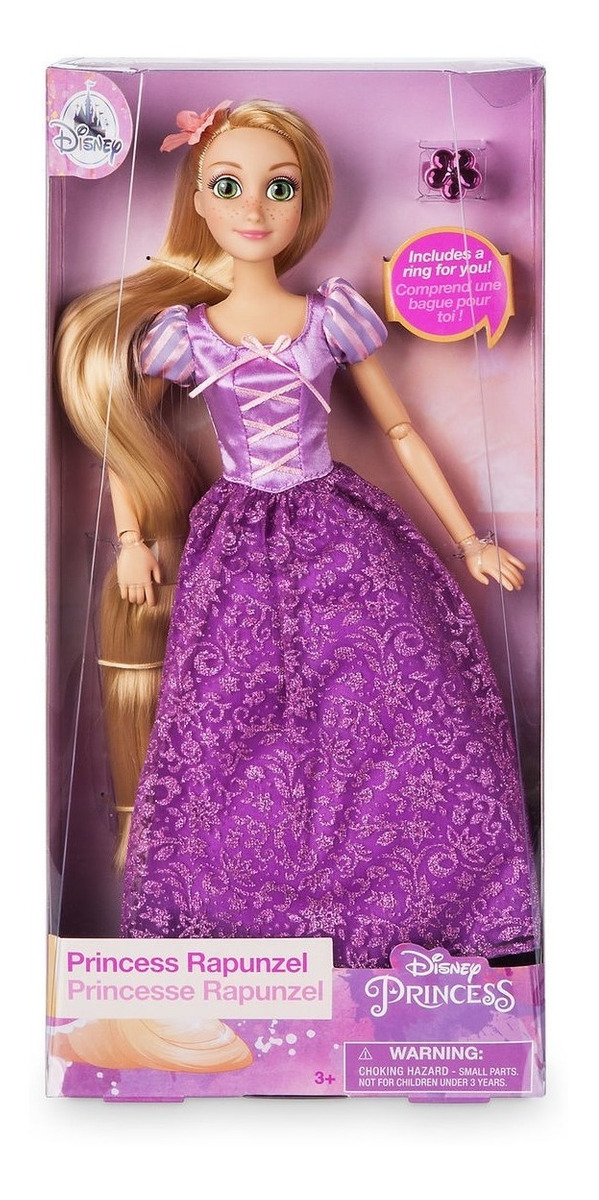 Disney Store Oficial Aladdin Princesa Jasmine mu/ñeca cl/ásica con el Anillo de 30 cm de Altura