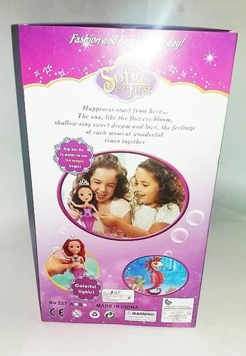 muñeca princesa sofia accesorios