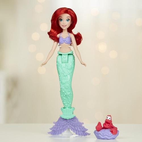 muñeca princesas ariel cambia color (2514)