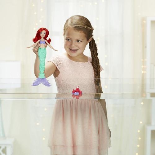 muñeca princesas disney ariel color change e0053 (2514)