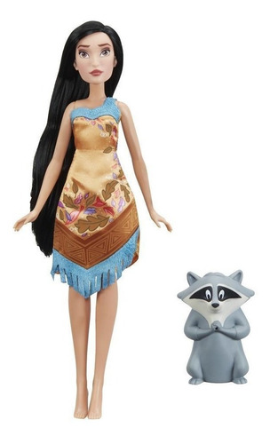 muñeca princesas disney pocahontas color change e0053 (2514)