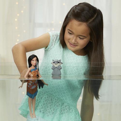 muñeca princesas pocahontas cambia color (2514)