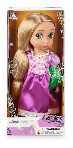 muñeca rapunzel, enredados, disney animators, disney store