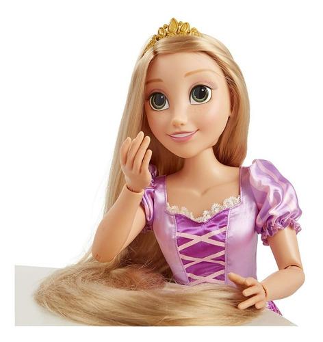 muñeca rapunzel princesa original disney 32¨-81cm entrega ya