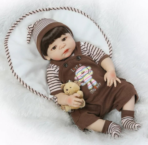muñeca reborn niño hombre bebé mamadera chupete envío chile