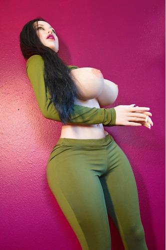 muñeca sexual realista silicona | nalgona trasero grande