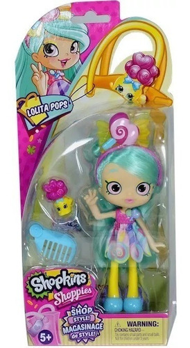 muñeca shopkins shop style summer pommie lolita jascenta