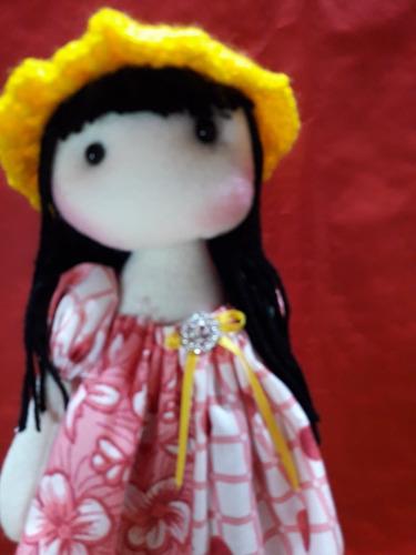 muñeca sirenita de tela