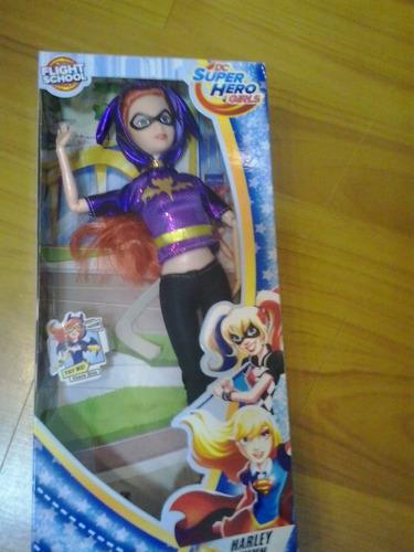 muñeca super hero girls mujer maravilla super girsl harley