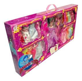 Juguete Vestidos Barbie Y 19 Accesorios Con Muñeca Tipo iuZPkX