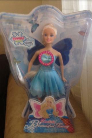 muñeca tipo barbie mariposa (día del niño)