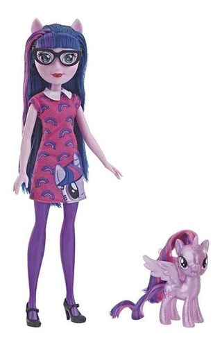 muñeca twilight sparkle my little pony espejo /schwarztoyz