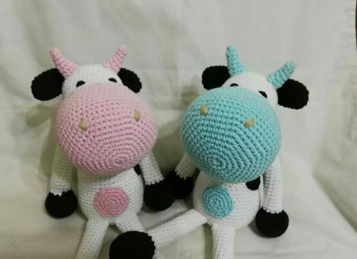 Amigurumi Vaca : Muñeca vaca amigurumi en mercado libre