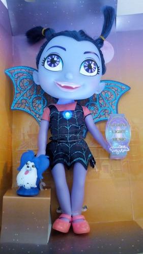 muñeca vampirina 27cm con musica y luces