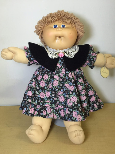 muñeca vintage cabbage patch kids pelo corto hawkeye b7