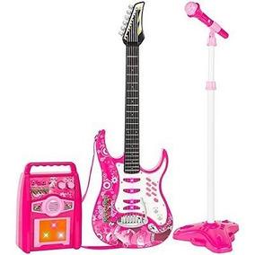 Guitarra Infantil Juguete Niñ@ Electrónica Rock N Roll