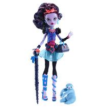 Monster High Jane Boolittle Muñeca, 100% Original Mattel