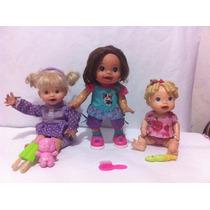 Muñecas Interactivas Litlle Mommy Baby Alive