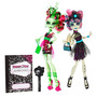 Monster High Zombie Shake Rochelle Goyle Y Venus Mcflytrap