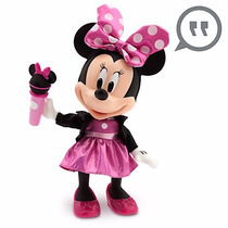 Muñeca De Minnie Mouse Que Habla Y Canta En Inglés