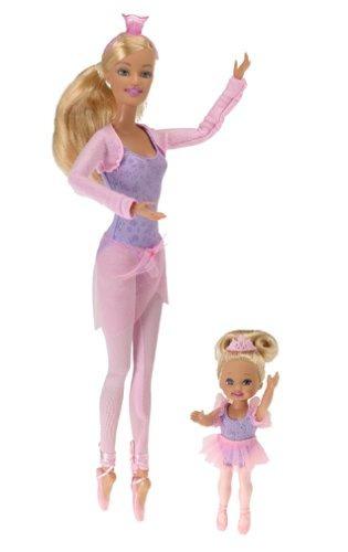 munecas bailarina barbie y kelly