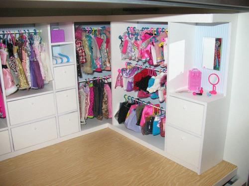Casas Para Muñecas Barbie Accesorios Vestier - Bs. 100.000,00 en ...
