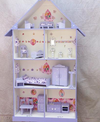 muñecas, barbie, muebles