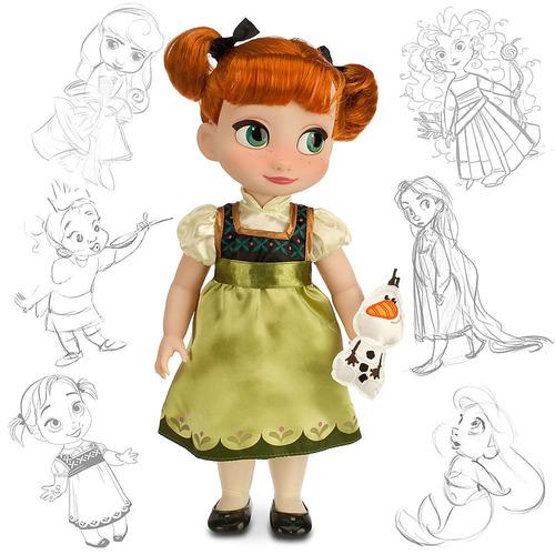 muñecas blanca nieves mulan y más animator 40cm disney store