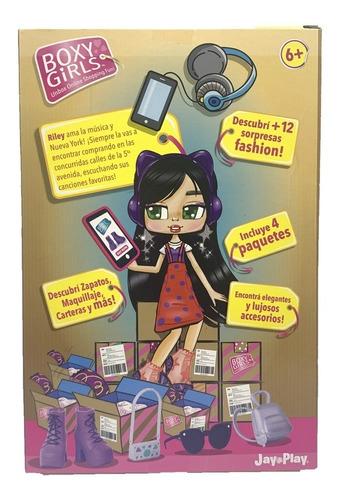 muñecas boxy girls coleccionables con accesorios 20cm