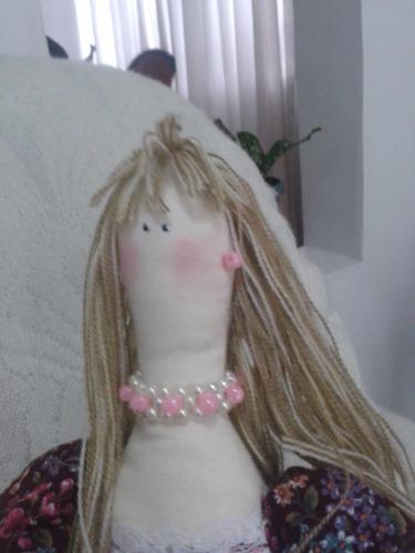 muñecas de tela tilda, decorativas.