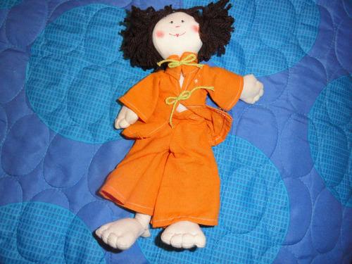 muñecas de tela trapo hermosas (lote de tres muñecas)