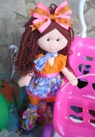 muñecas de trapo espectaculares  leer descripción