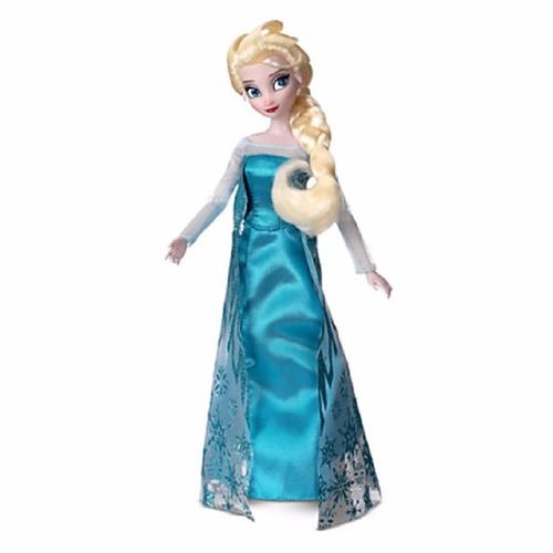 muñecas elsa  de disney store