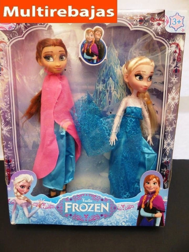 muñecas frozen