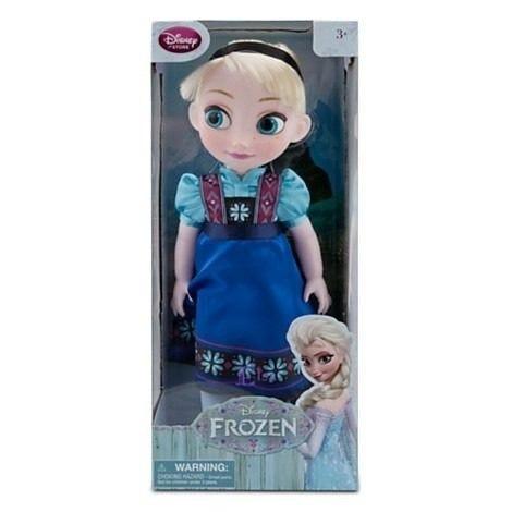 muñecas frozen elsa anna  animators disney store 2014