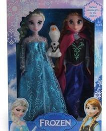 muñecas frozen en caja incluyen 3 elsa anna y olaf de oferta