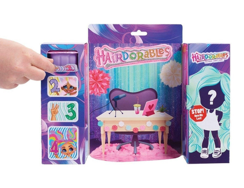 muñecas hairdorables muñeca sorpresa original (2463)