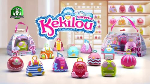 muñecas kekilou sorpresa maquillaje + muñequita (2464)