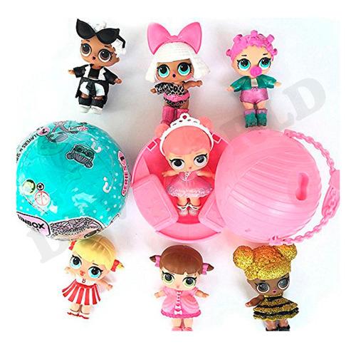 muñecas lol kit 4 en 1 coleccionables sorpresa varios modelo