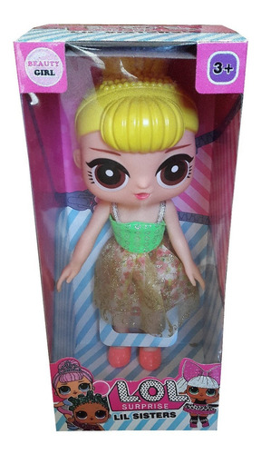 muñecas lol surprise 30 lil sisters juguete 30 cm niña